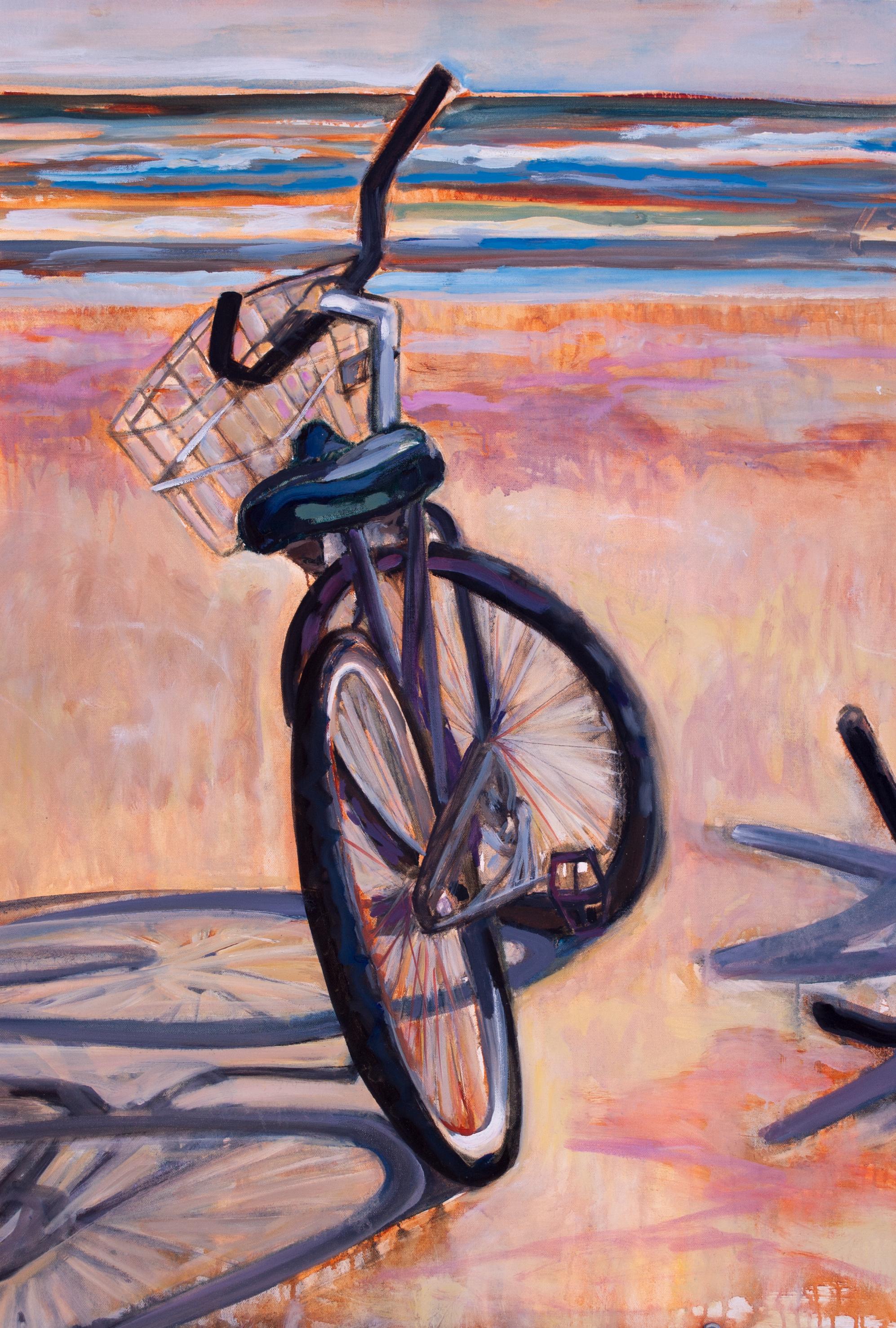"""Beachcomber 30"""" x 40"""" acrylic on canvas"""
