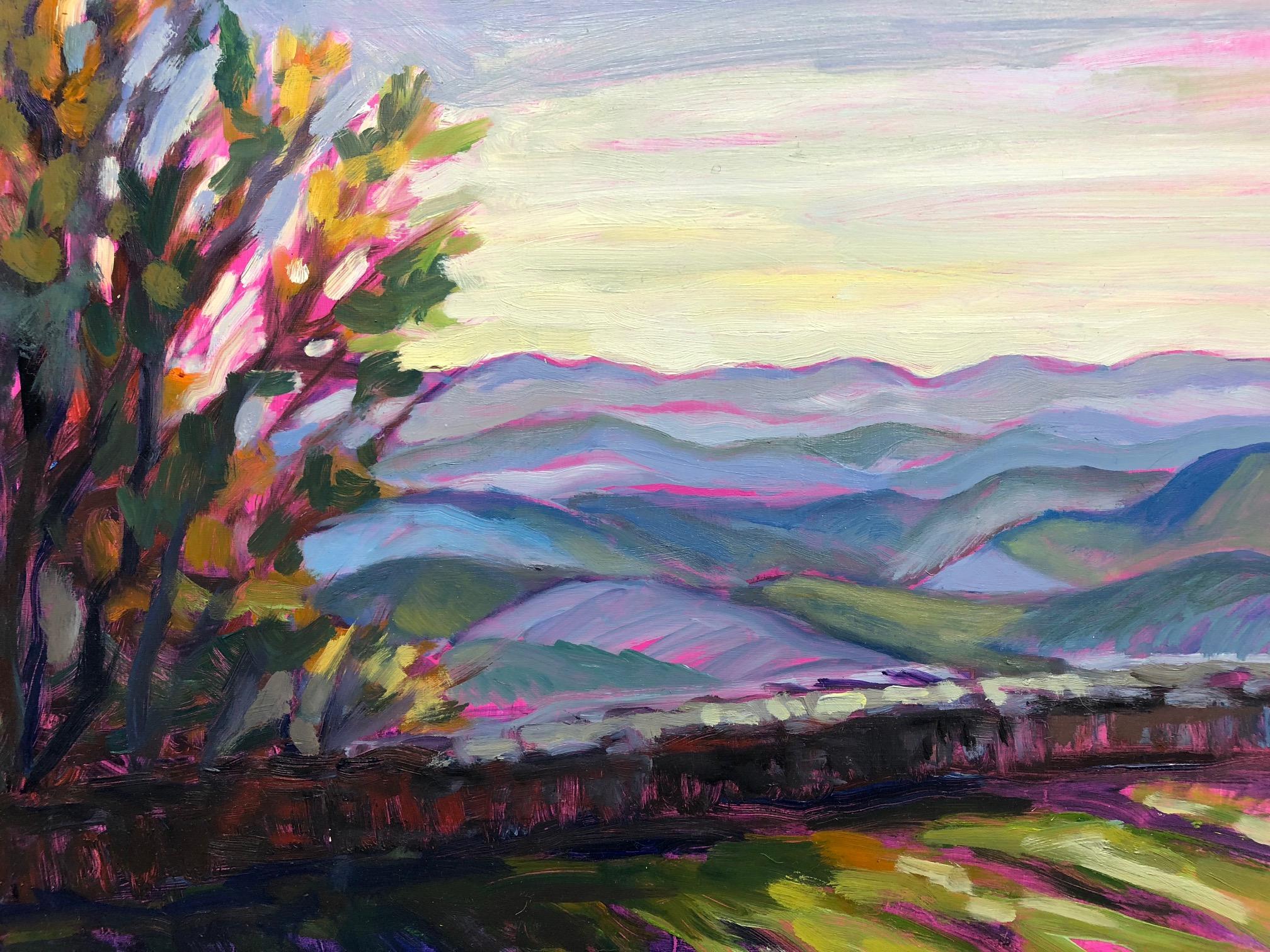 """Gideon Ridge, 11"""" x 14"""", Oil on Panel"""