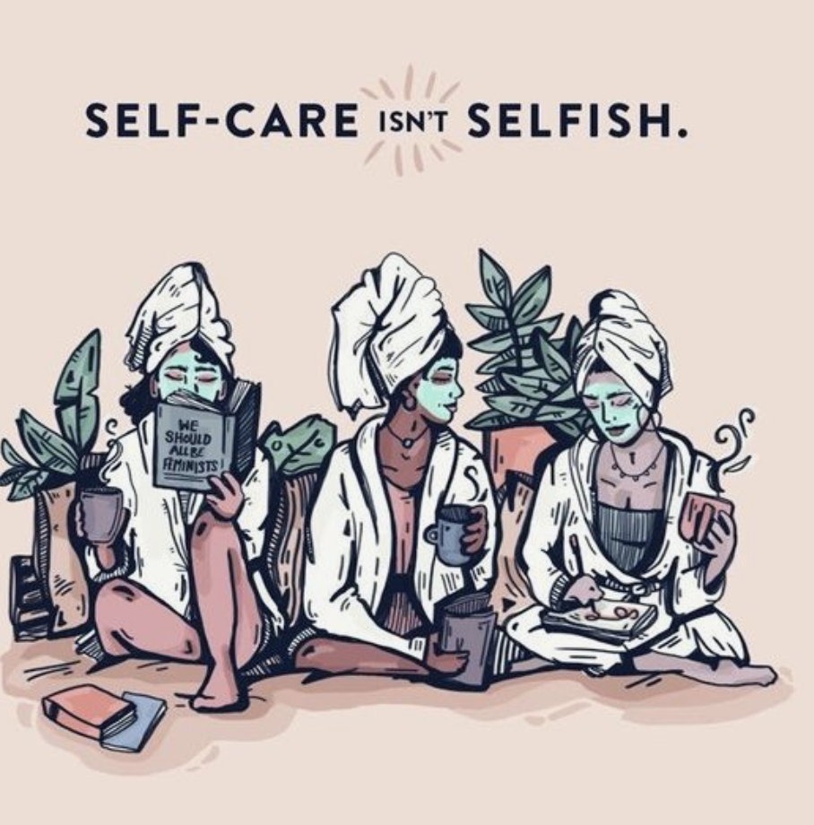 the only way to love is to serve - you must start by serving yourself…so basicallytreat yo self girl