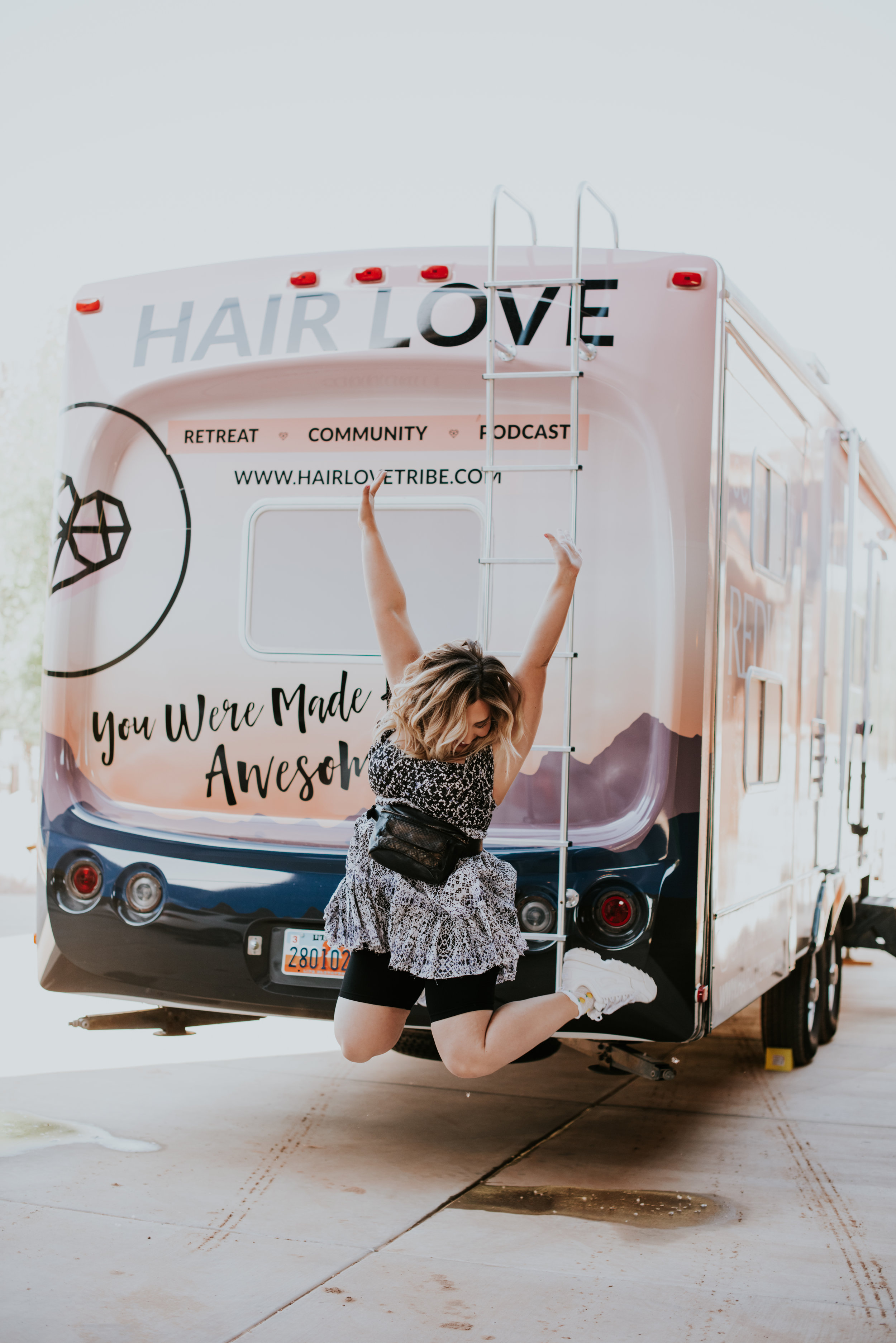 Are you a big fan of the Hair Love Radio Podcast?! Even if you aren't yet you will be after watching a live show. The big news is finally out! The #hairloverv (yes RV!!!! holy molly) is hitting the road this July! We will be hosting LIVE shows, meet ups, popups and more opportunities to be a part of this amazing tribe of stylist. A big thanks to Redken + Schedulicity for making this magical month of gatherings, events + meetups possible!We want you there! Snag your ticket, seats are limited and will fly!! -