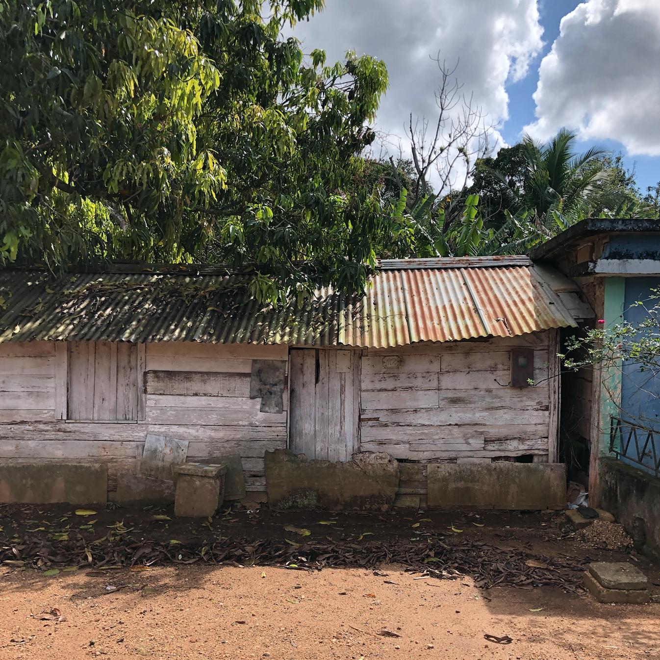 Leysa's first family home in Varadero, Cuba.