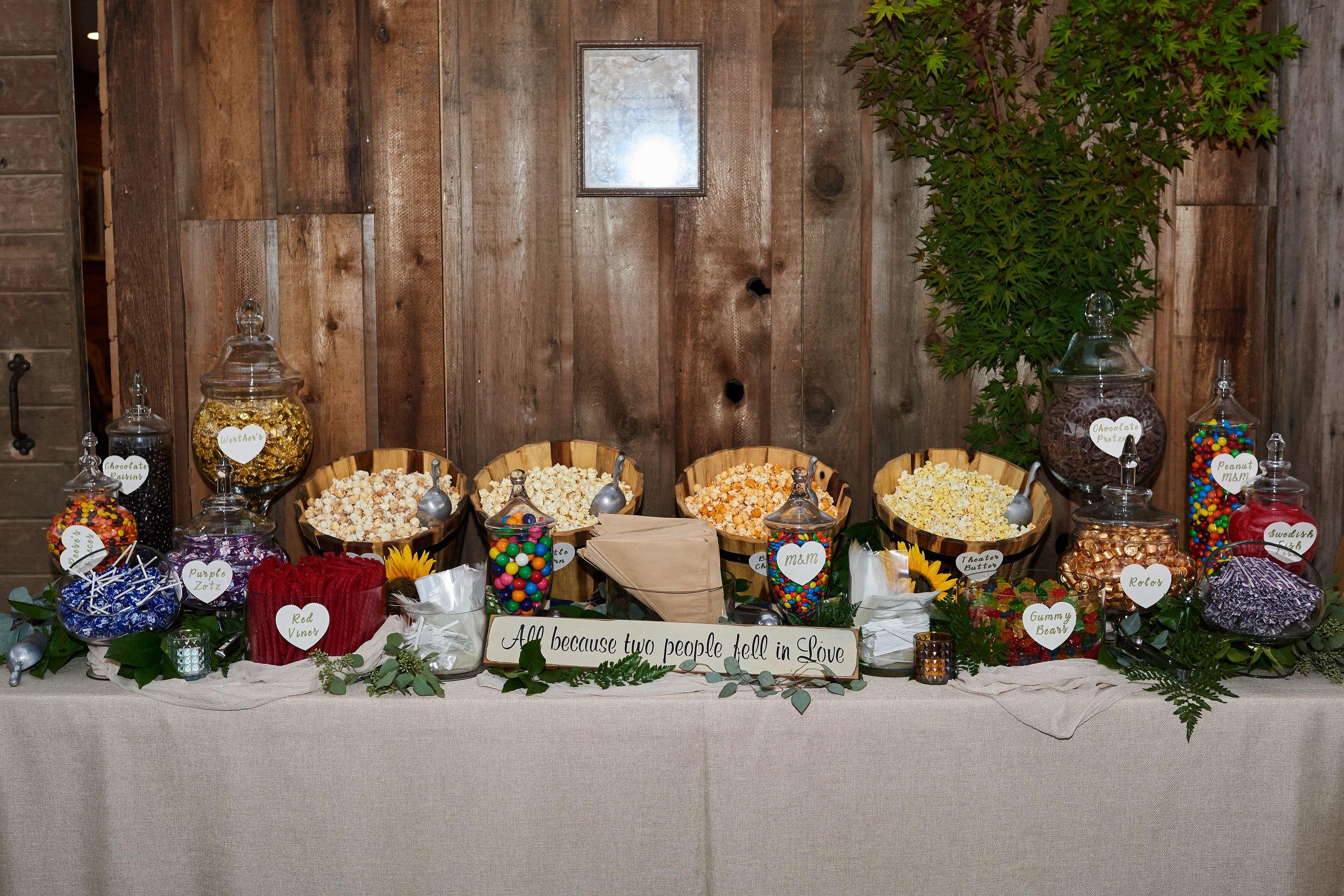 Rentals - Sweet Buffet LadyArtisan Farm Table Co.
