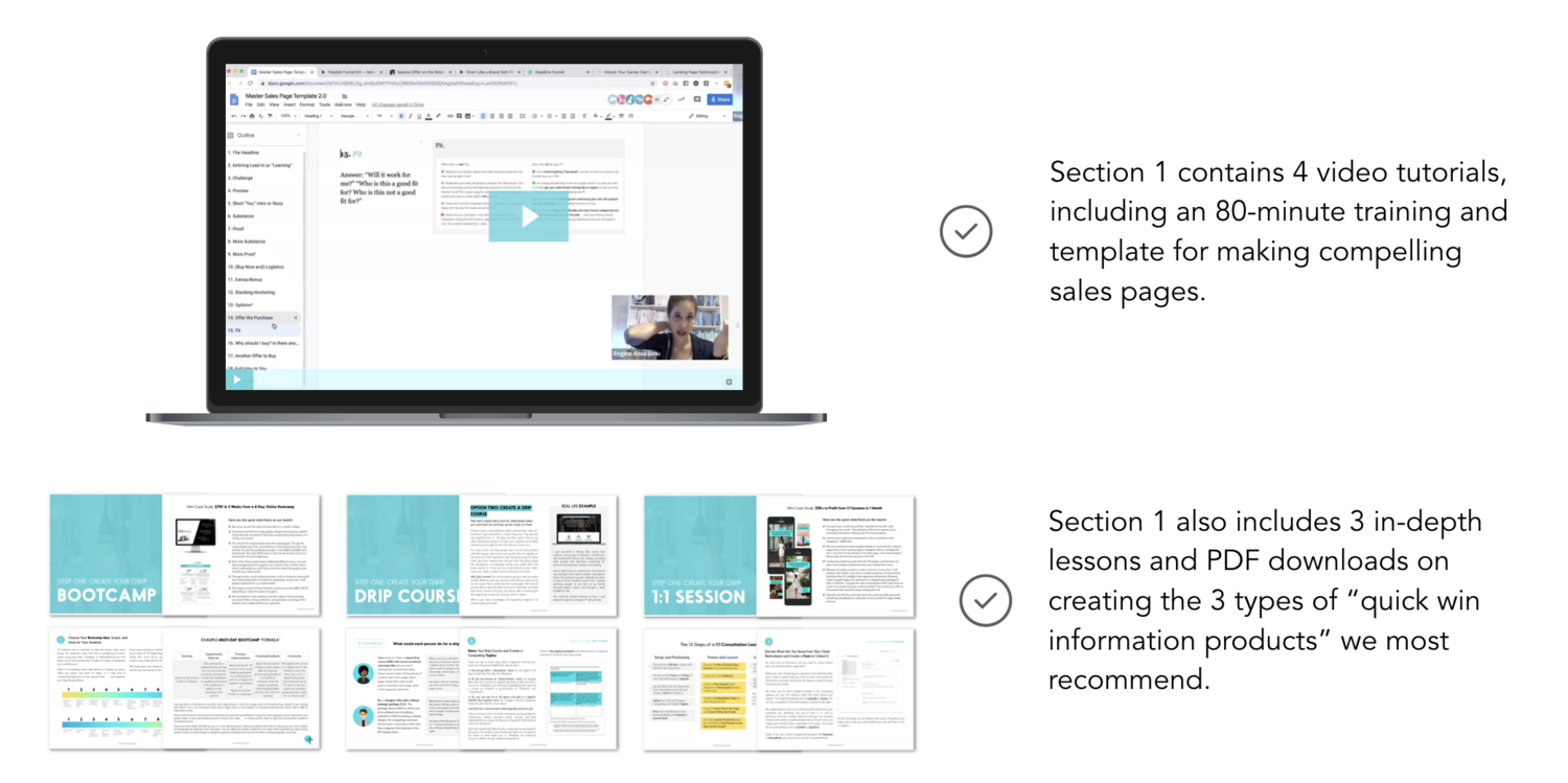 Section 1 Includes Video Tutorials and PDF Lessons.png