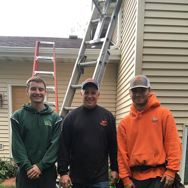 Fox guard crew keeps another basement high and dry give is a call at 651-329-5153 #hastingsnow  #gutters #foxguard #flowrite