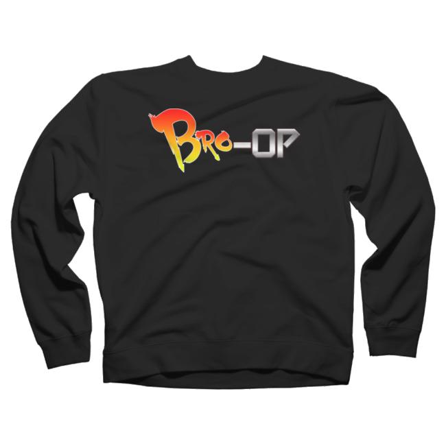 Bro-Op Crew Neck $44