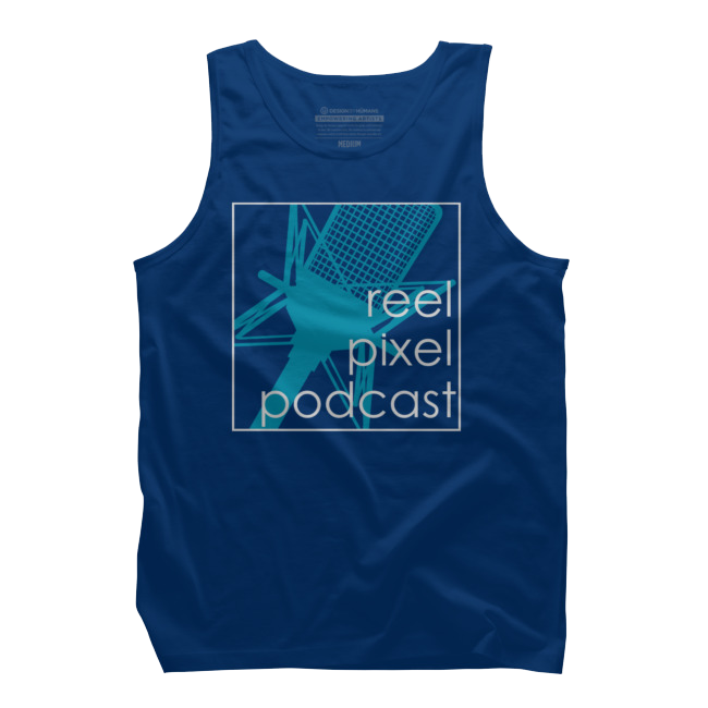 Reel Pixel Podcast Tank Top $25