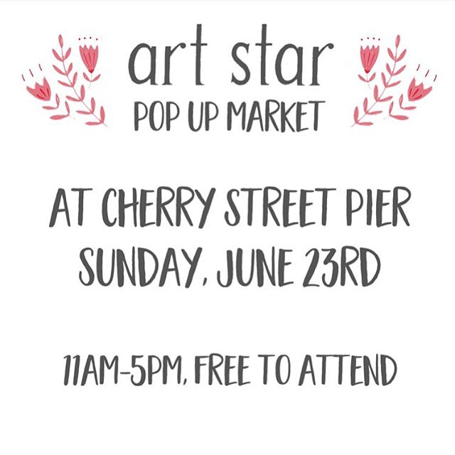 Coming up in 2 weeks, I've got the Swarthmore Farmers Market on 6/22 and Art Star Pop Up Market on 6/23. See you soon! #artstarpopupmarket #cherrystreetpier #visitphilly #swarthmore #shopsmall #shoplocal