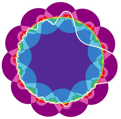 Venn diagram for 11 sets of objects__             Image: Khalegh Mamakani +  Frank Ruskey