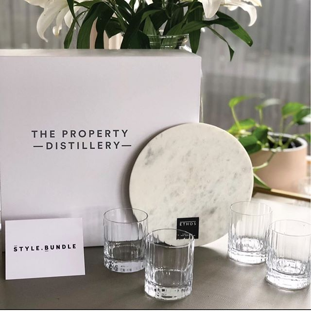 We are thrilled to be donating this gorgeous whiskey bundle as an auction item to a special event taking place tomorrow evening, raising funds for a cause very close to our hearts as Mums, the @tlcforkids foundation. ❤️ Well done @propertydistillery we know it's going to be an amazing night. 🥃  #stylebundle #propertydistillery