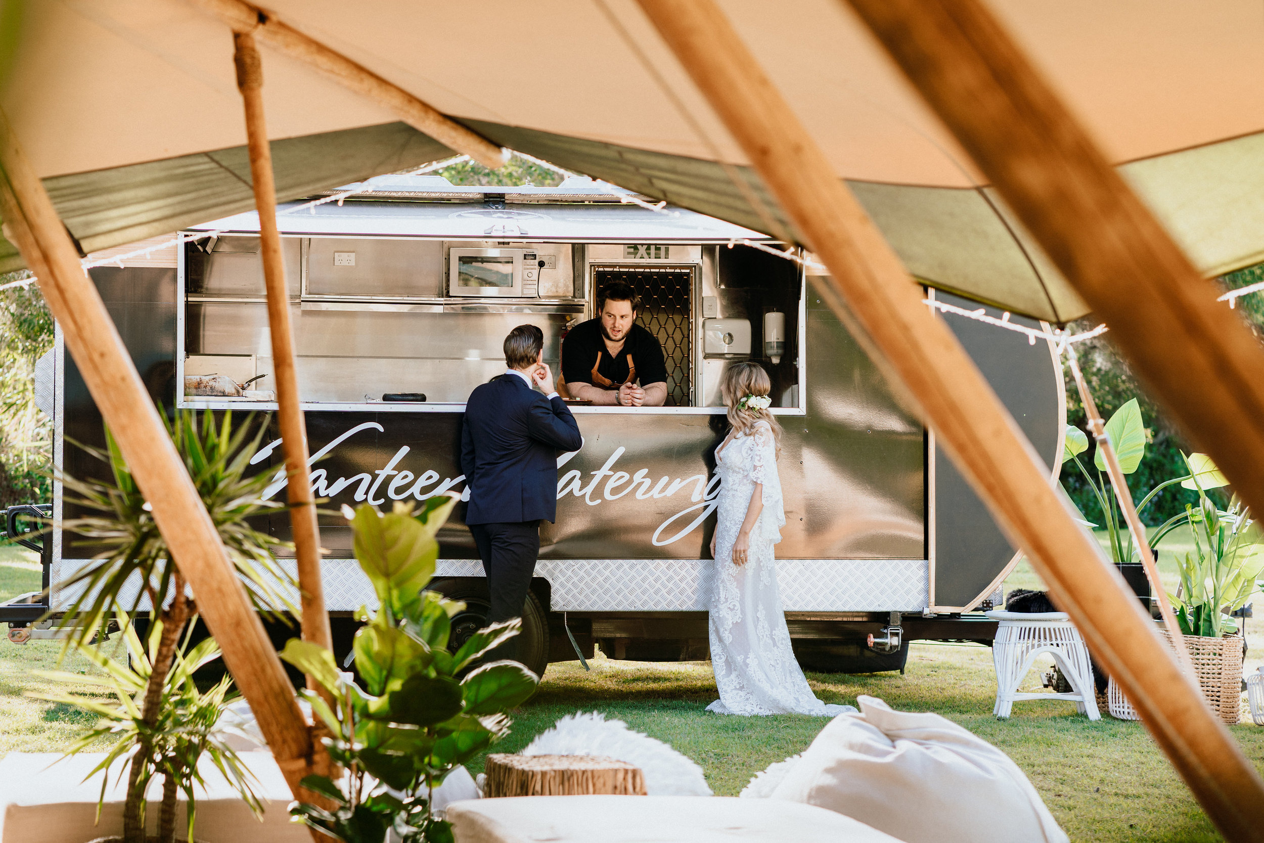 The Brides Tree - Westival on Noosa North Shore   Published on:   @thebridestree   Photography:  @lukemiddlemissphotography  Venue:  @beachroadholidayhomes  Tipi:  @tipiluxe  Styling, decor & stationery:  @splashevents  Florist:  @flaxflower  Dress:  @whitelilycouture  Suit:  @suitsdirect  Makeup:  @boudoir_blush_beautyandmakeup  Hair:  @evalynparsonsweddings  Catering:  @vanteencatering  Cake:  @chocolate2chilli  Photo Booth:  @kombi_photobooth  Celebrant:  @kathtilly_celebrant  Models: Tim & Deminique  @imodelsaust