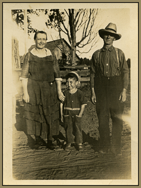 Kate, George and Billy Park c.1905
