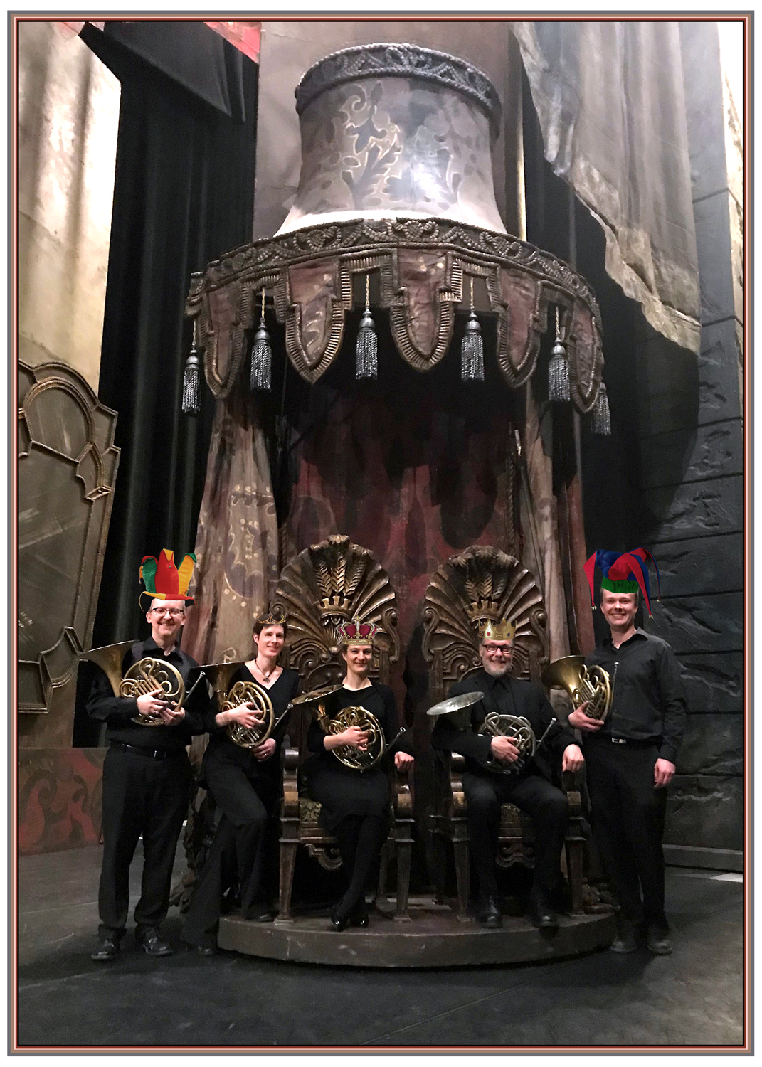 The Horns of 'Sleeping Beauty'