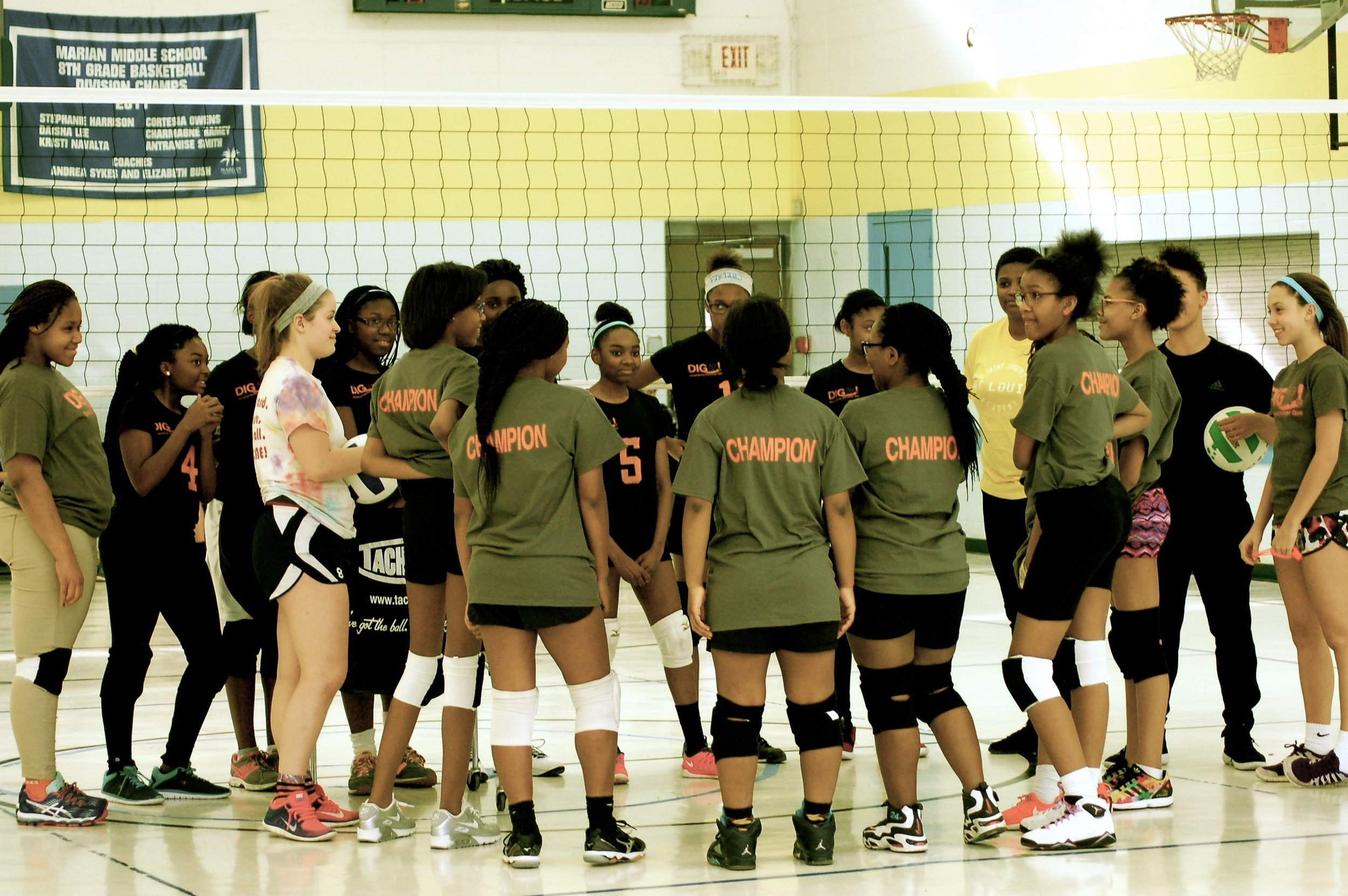 DIG it! Volleyball - DIG It! Volleyball Inc. is a 501(c)3 female empowerment organization.Our slogan