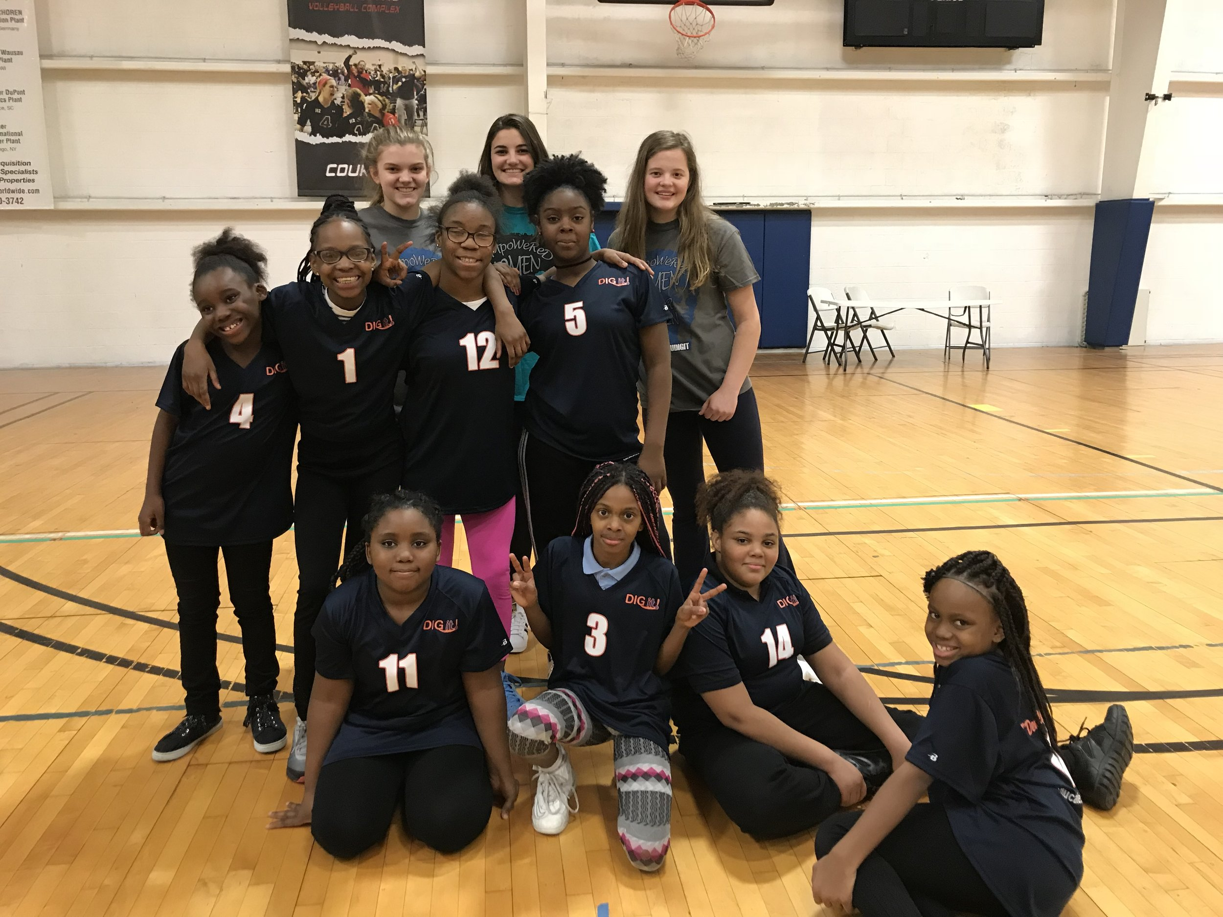 Granneman Elementary BGCSTL DIG it! Team - Granneman Elementary's Boys & Girls Club DIG it! Volleyball Team is located in North County of St. Louis, MO. The team consists of 4th-6th grade girls who have been members of the DIG it! Program for the last 3 years!