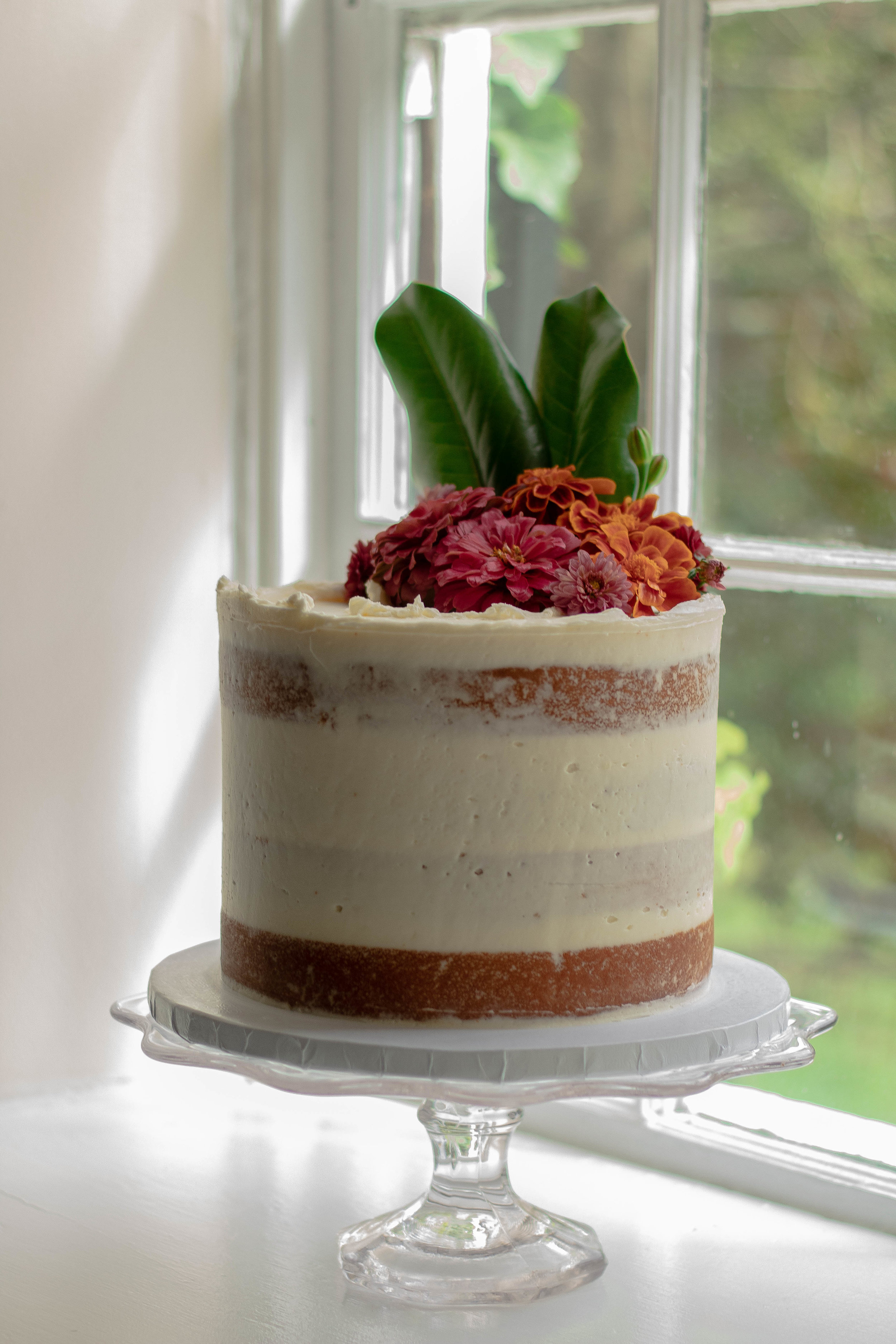 Scout's Bake Shop  created this masterpiece and Ballenger windows are made for cakes!
