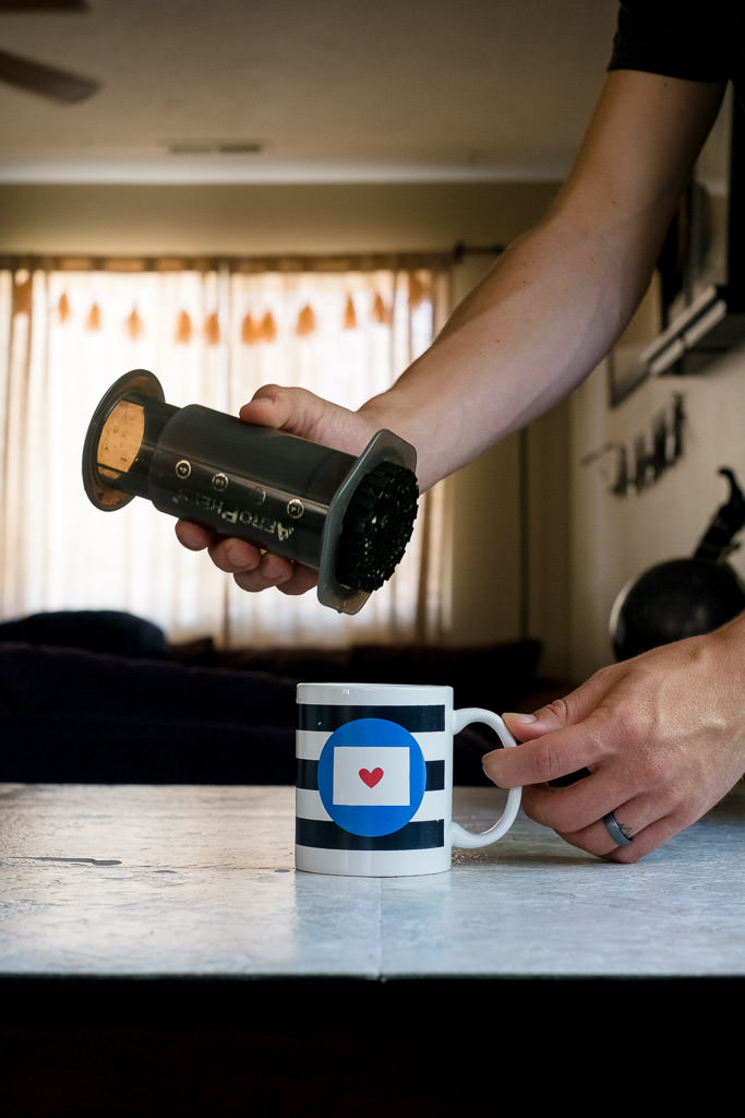 How to make coffee with an Aeropress without a scale