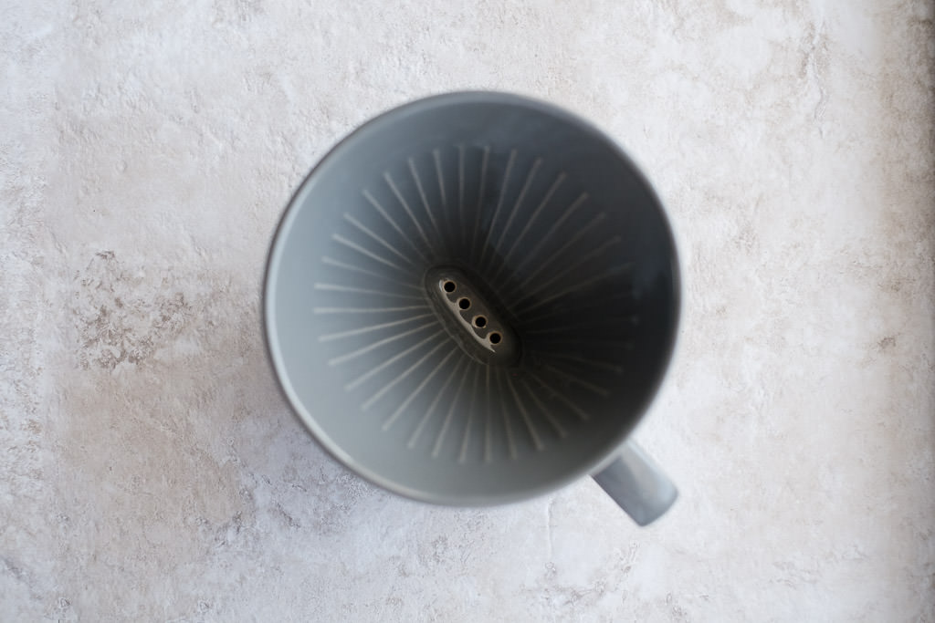 Ceramic Bee House wedge pour over dripper