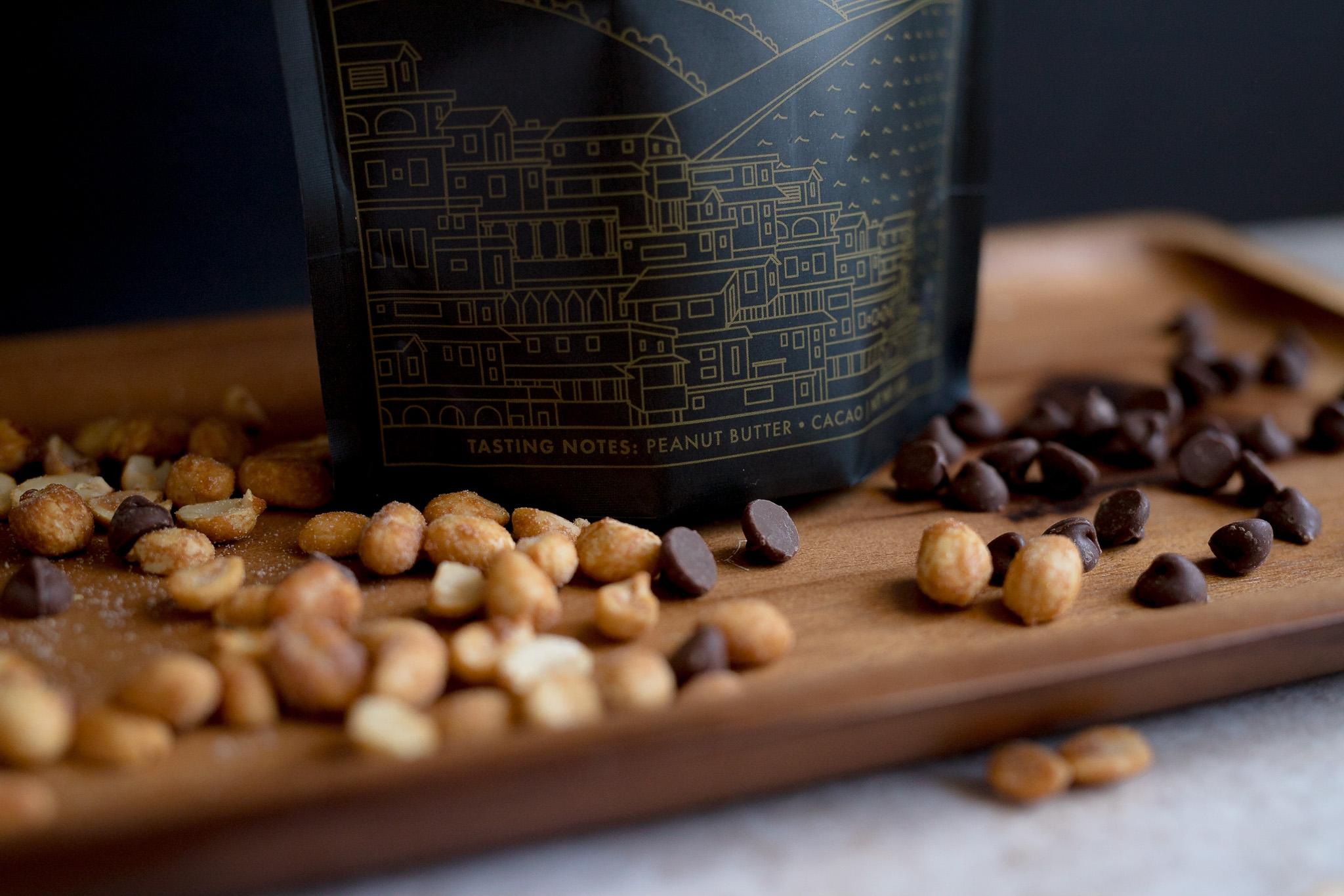 Peanut Butter and Cocoa flavor notes Haiti coffee la barba