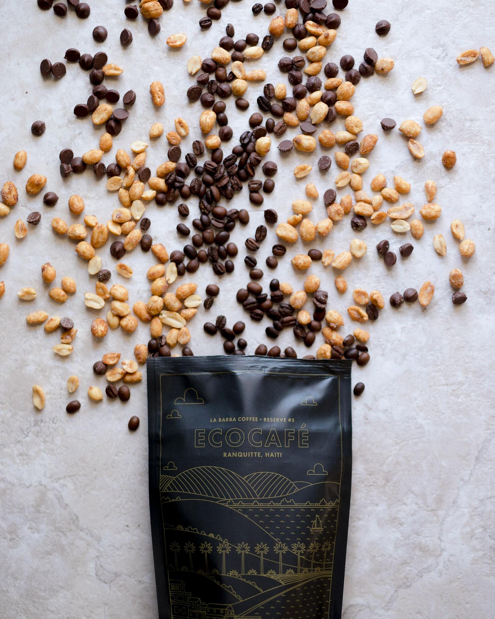 Whole bean coffee from Haiti
