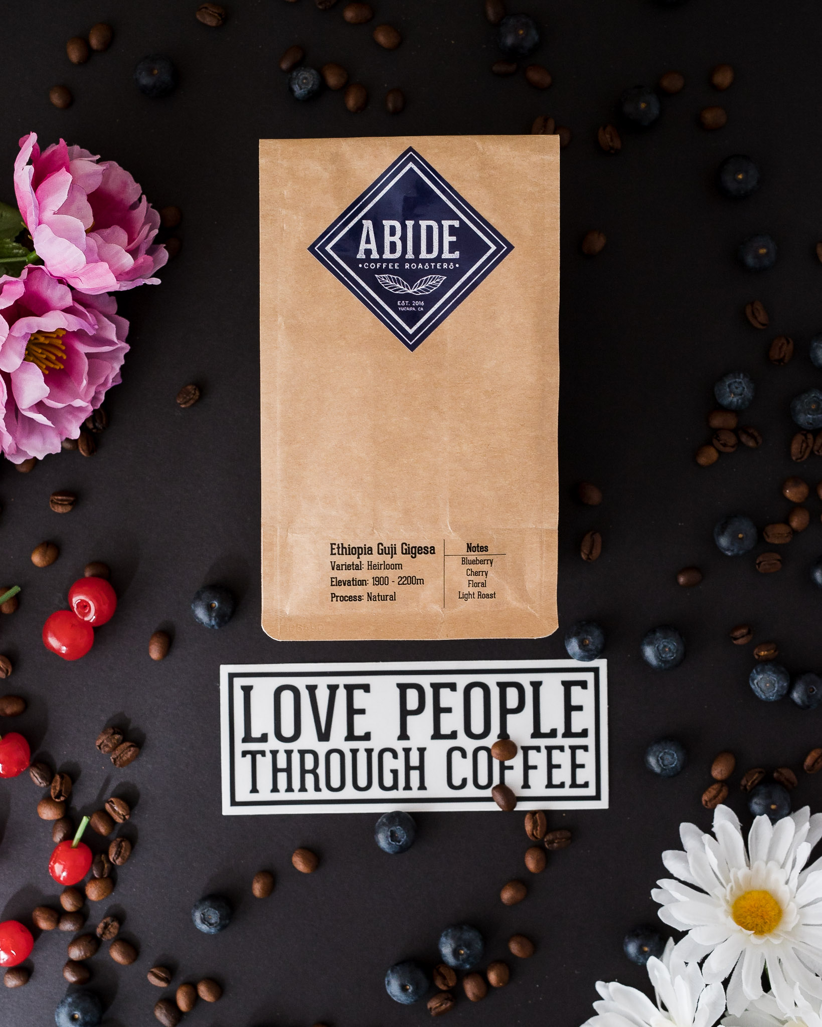 Abide Coffee Roasters Ethiopia Guji Gigesa Natural Heirloom