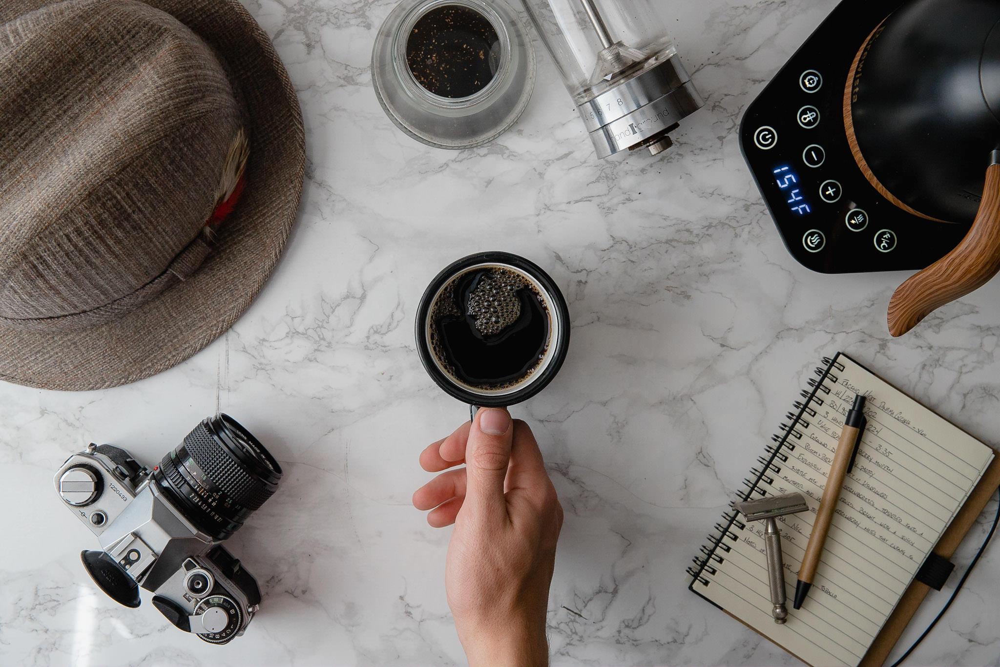 Professional Coffee Photographer Blogger