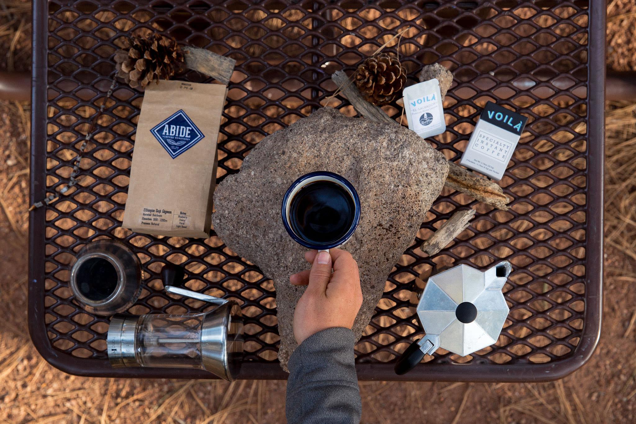 Moka Pot Coffee camping gear giveaway