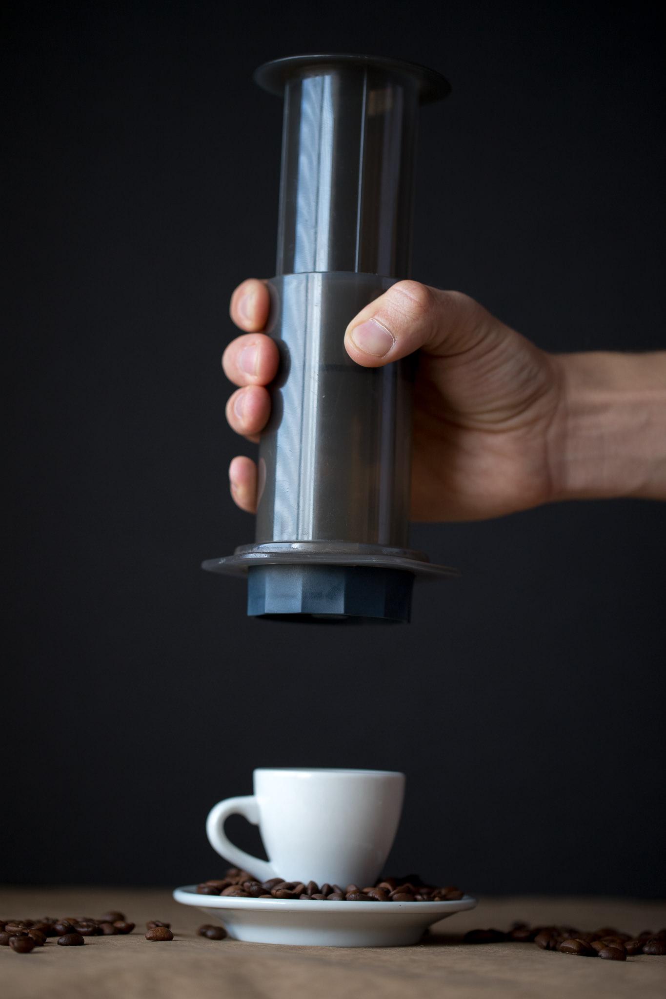 Fellow Prismo Aeropress espresso attachment pressurized valve