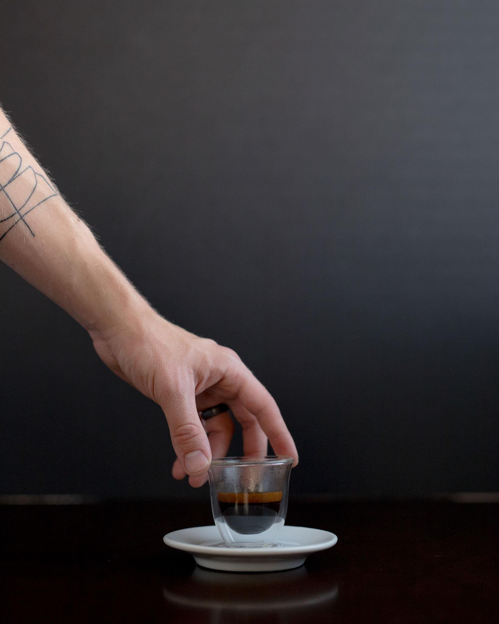 Enjoy your espresso