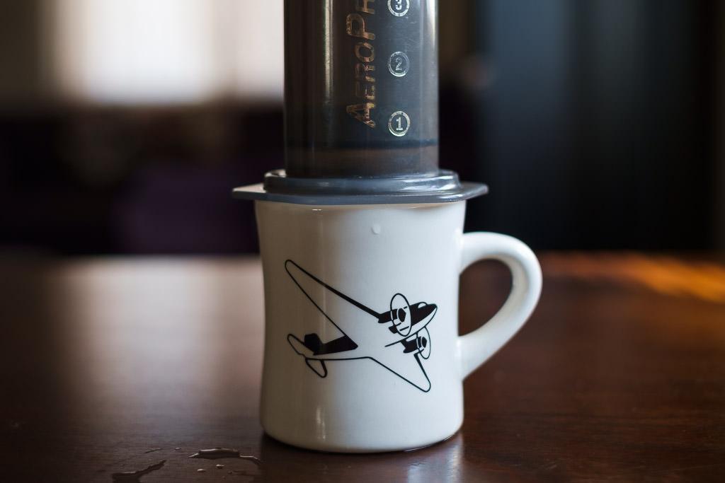 Aerobie Aeropress coffee maker brew method cold bloom