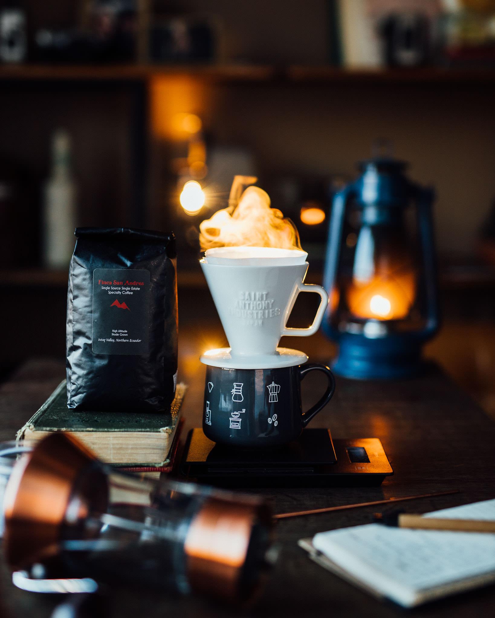 Specialty quality coffee from Ecuador
