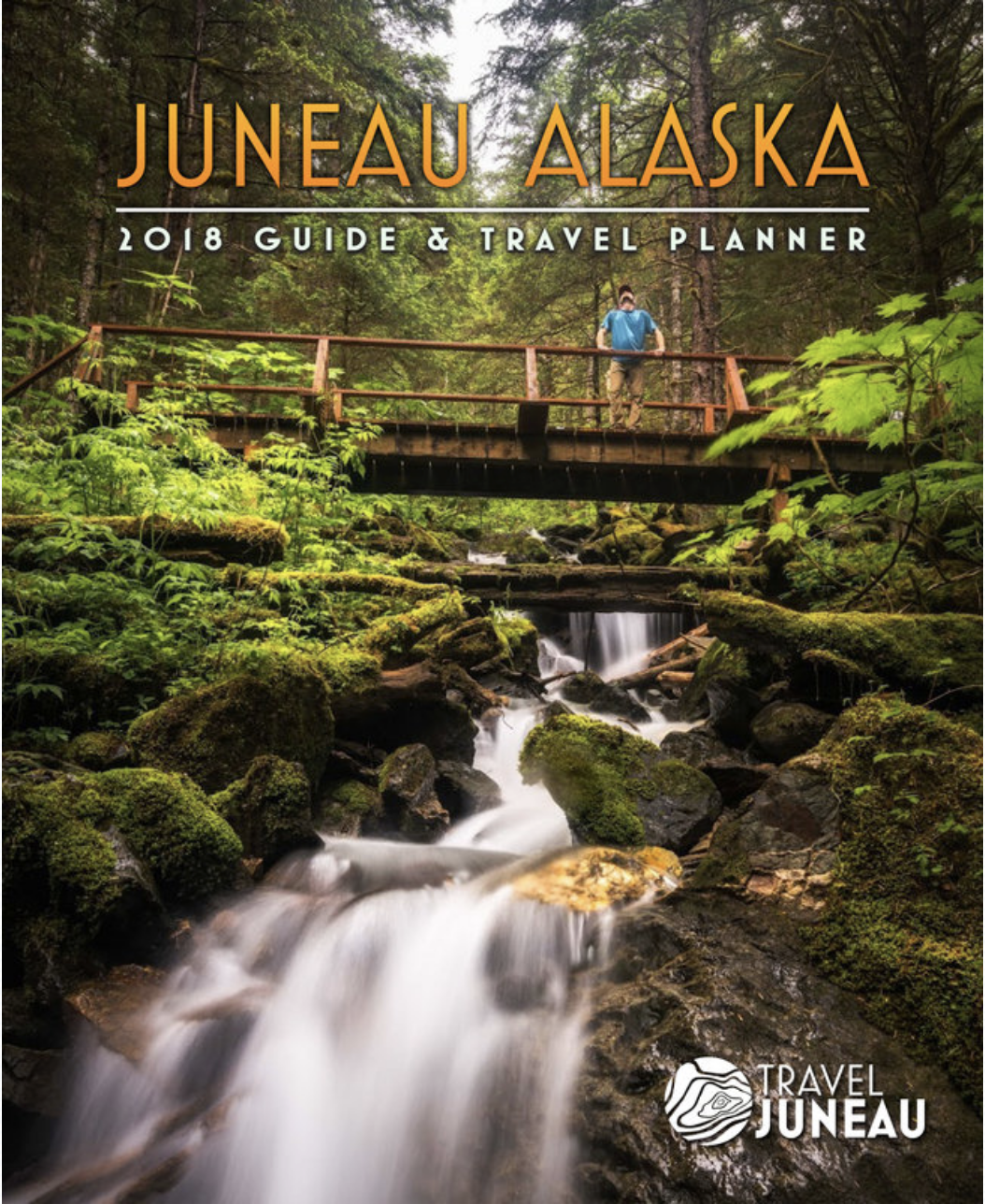 Cover of Juneau, Alaska Travel Guide