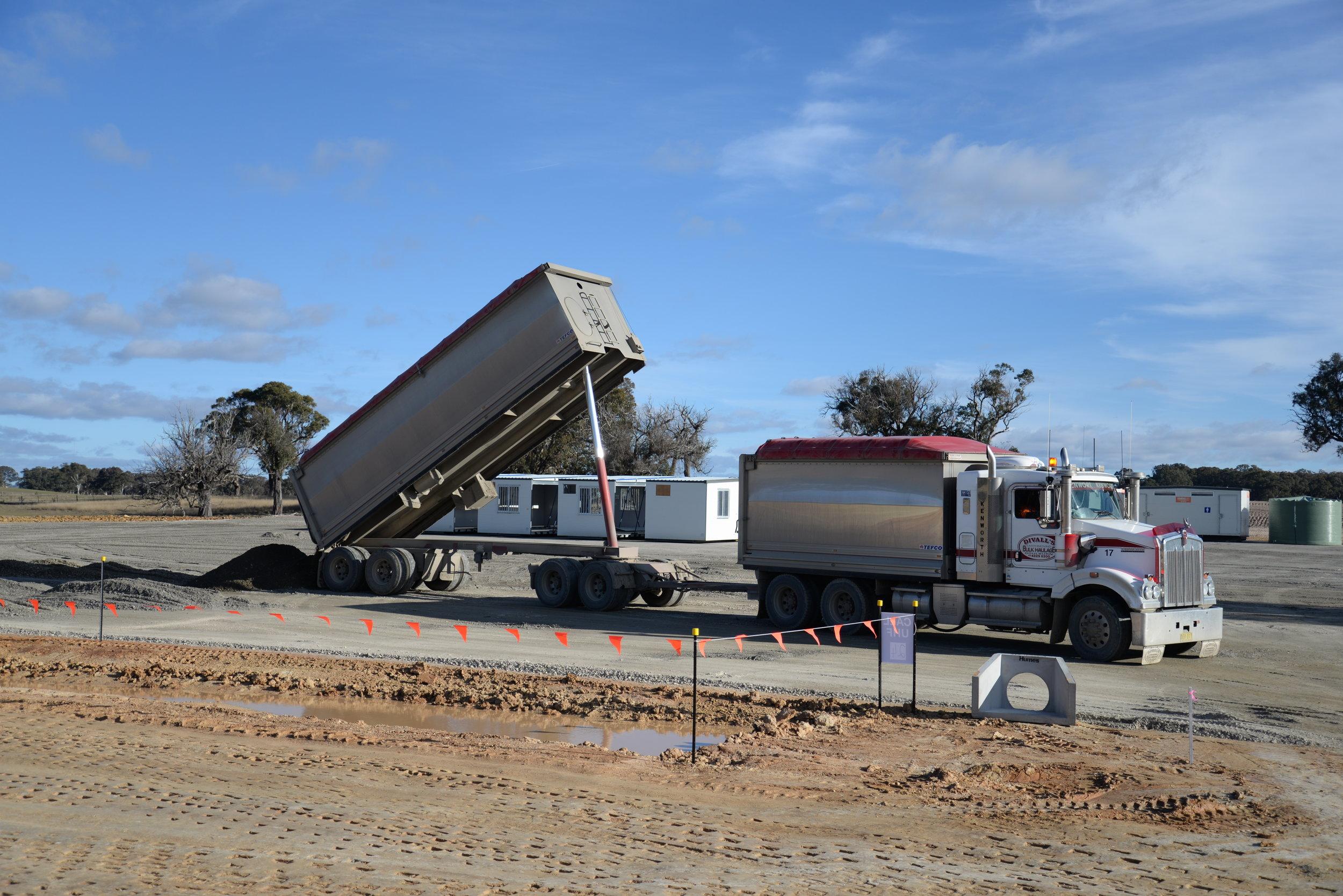 Construction compound