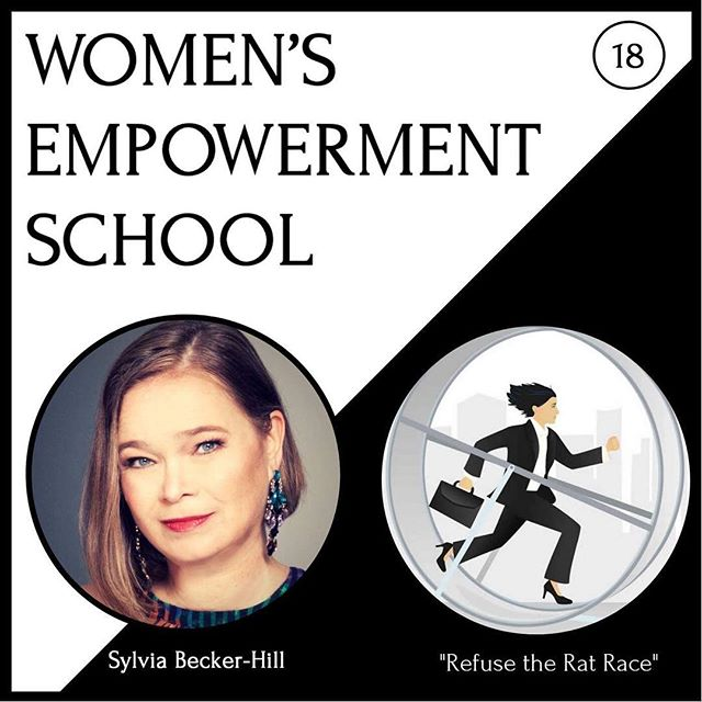 """Hustling was a badge of honor for far too long! It had cost us superwomen 💪🏼 our health, joy and fulfillment.  Listen to my Women's Empowerment School podcast 🎙episode 18 """"Refuse the Rat Race"""" on ITunes, GooglePlay or Stitcher.  Or on its webpage with shownotes! First link in my linktree in my profile gets you there! 🌎✈️💃🏻"""
