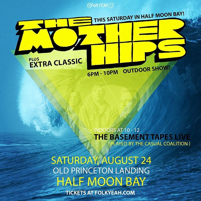 Stoked to be playing coastside with @motherhips this Saturday. I've heard lots of good things about this venue. @folkyeahevents @extra_classic @thecasualcoalition