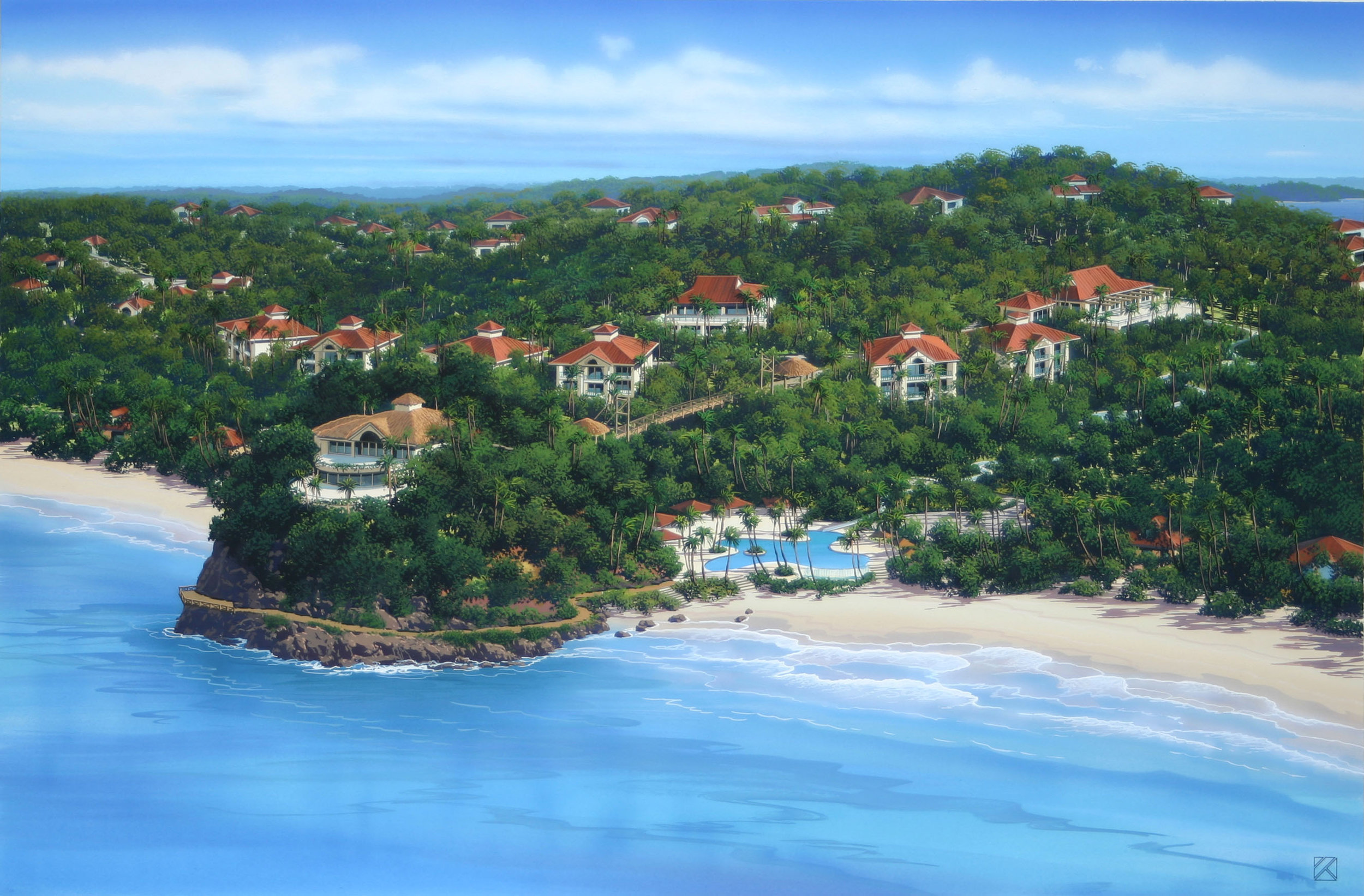 Hotel Rendering at Red Frog (rope bridge out to point).JPG