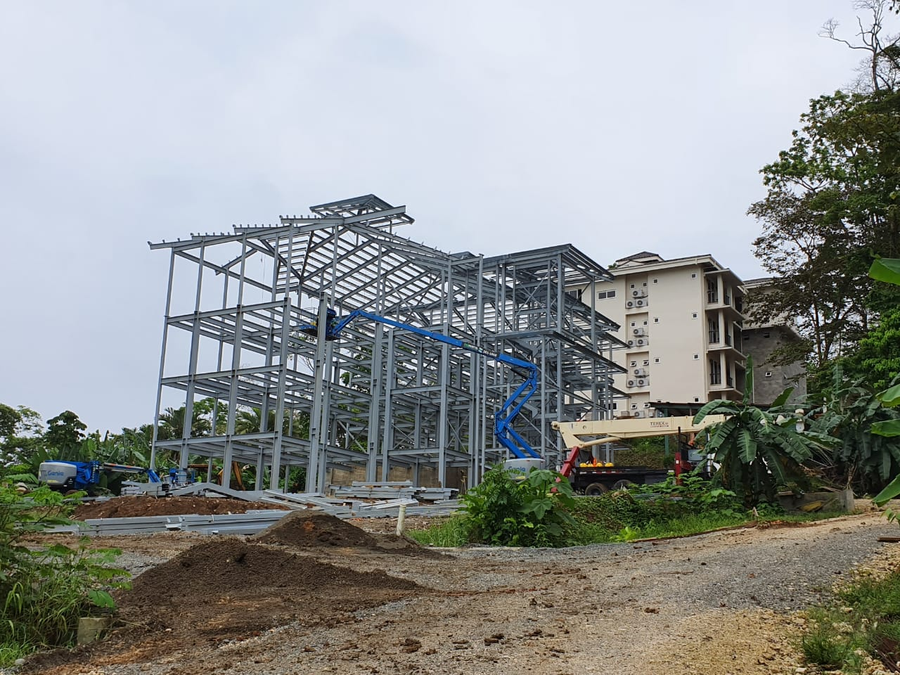 April 2019: Condo Building #2 Progress