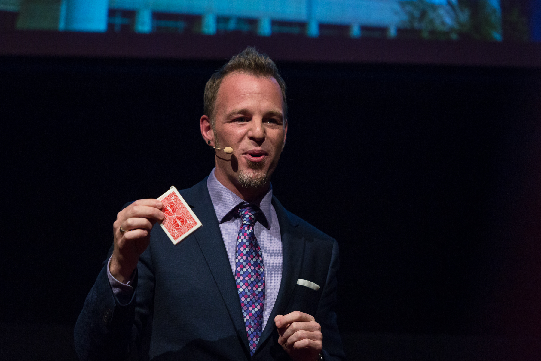 """ Hi, I'm Adam, how may I help you? - You may have seen me fool Penn & Teller on their hit show Fool Us. Let me bring that same passion, professionalism and performance to your event!My goal is to make you look like a rockstar to your co-workers, friends and family."""