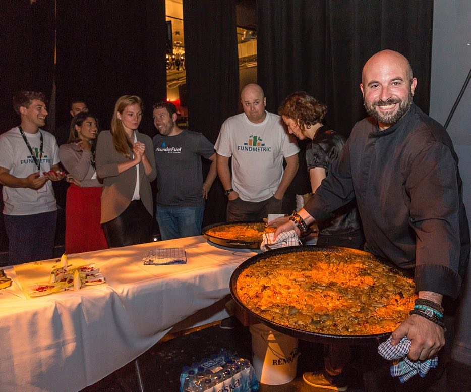 Paella event for Founder Fuel at the  Olympia Theatre  in Montreal.