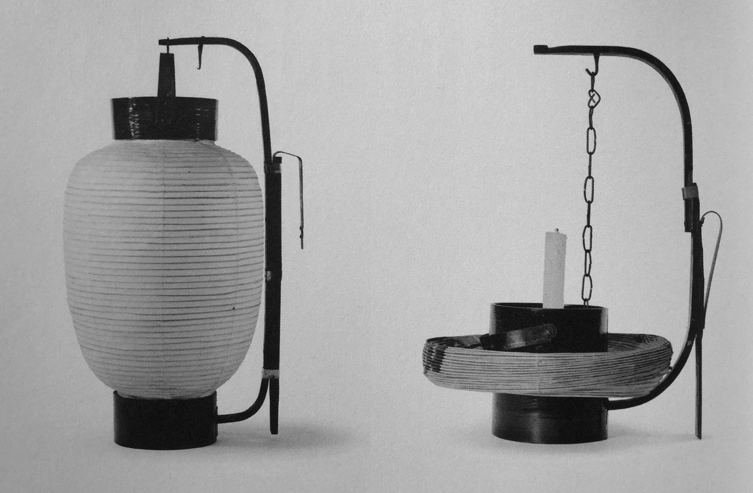 Traditional Japanese fishing lanterns