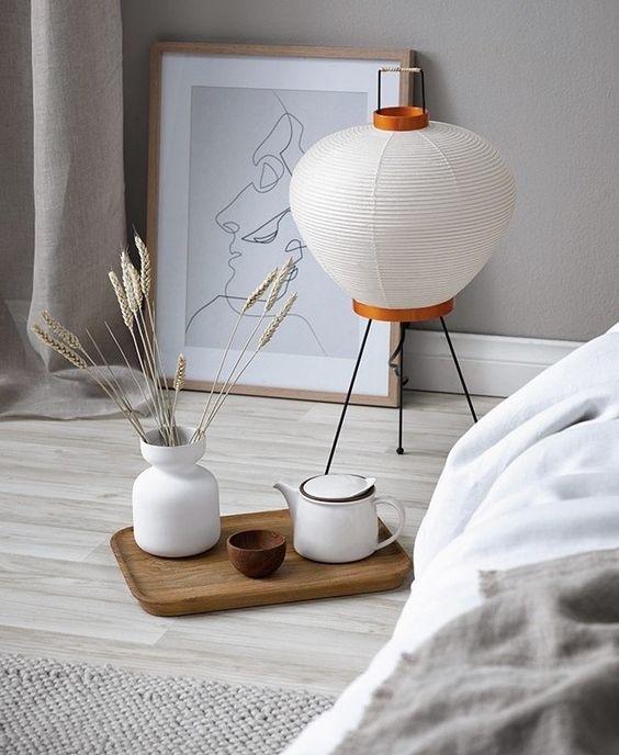 Isamu Noguchi's Akari lamp interior styling