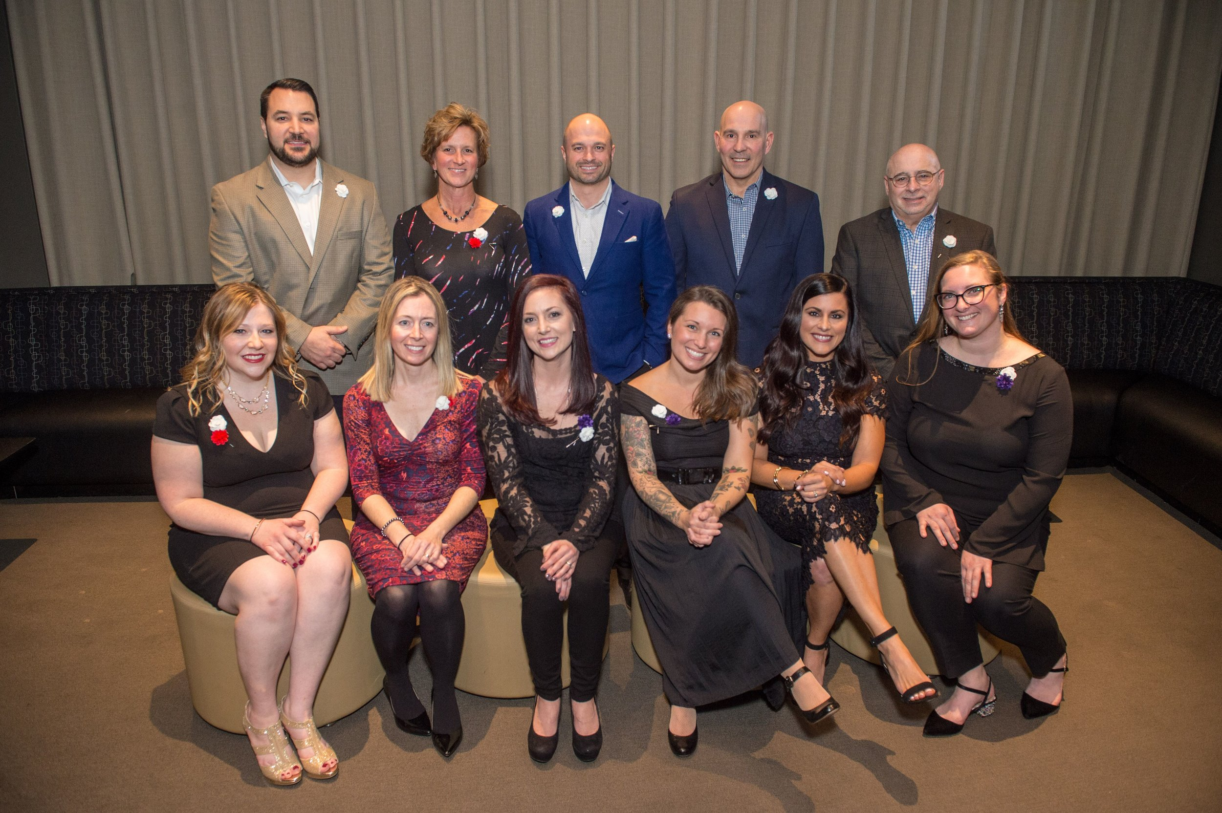 The 2018-2019 Board of Directors and Advisory Board at the 2019 Night for Babies Event