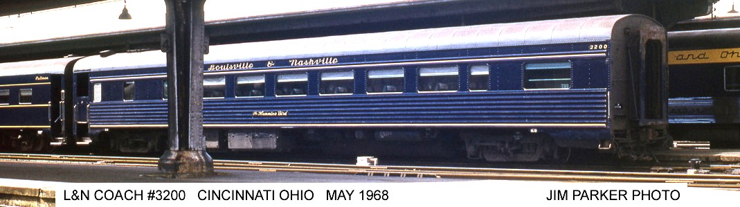The 3200 at Cincinnati Union Terminal bringing up the markers on  The Humming Bird