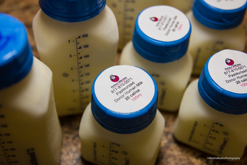 Donor milk is nutritionally analyzed, gently pasturized and tested for bacteria to ensure it's safety for fragile infants.