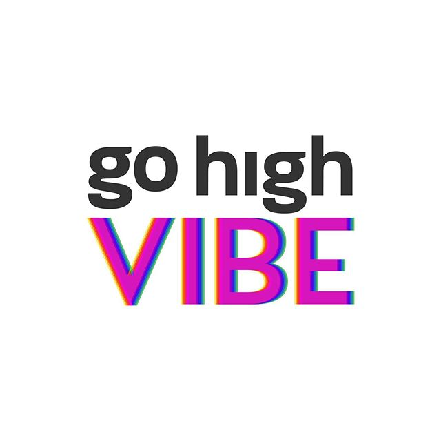 We are so excited for the logo + brand launch of go high VIBE, a woman-owned business whose mission is to teach people how to raise their vibration on command and clear karma so they can move into the frequency of love, and ultimately raise the vibration of the planet. Swipe 👉🏼 to see more!
