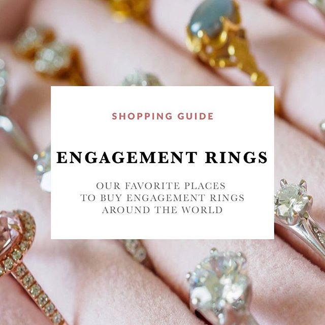 Looking for an ethically sourced engagement ring? Head over to the blog and check out some of my favorite jewelers around the world making kick ass engagement rings.