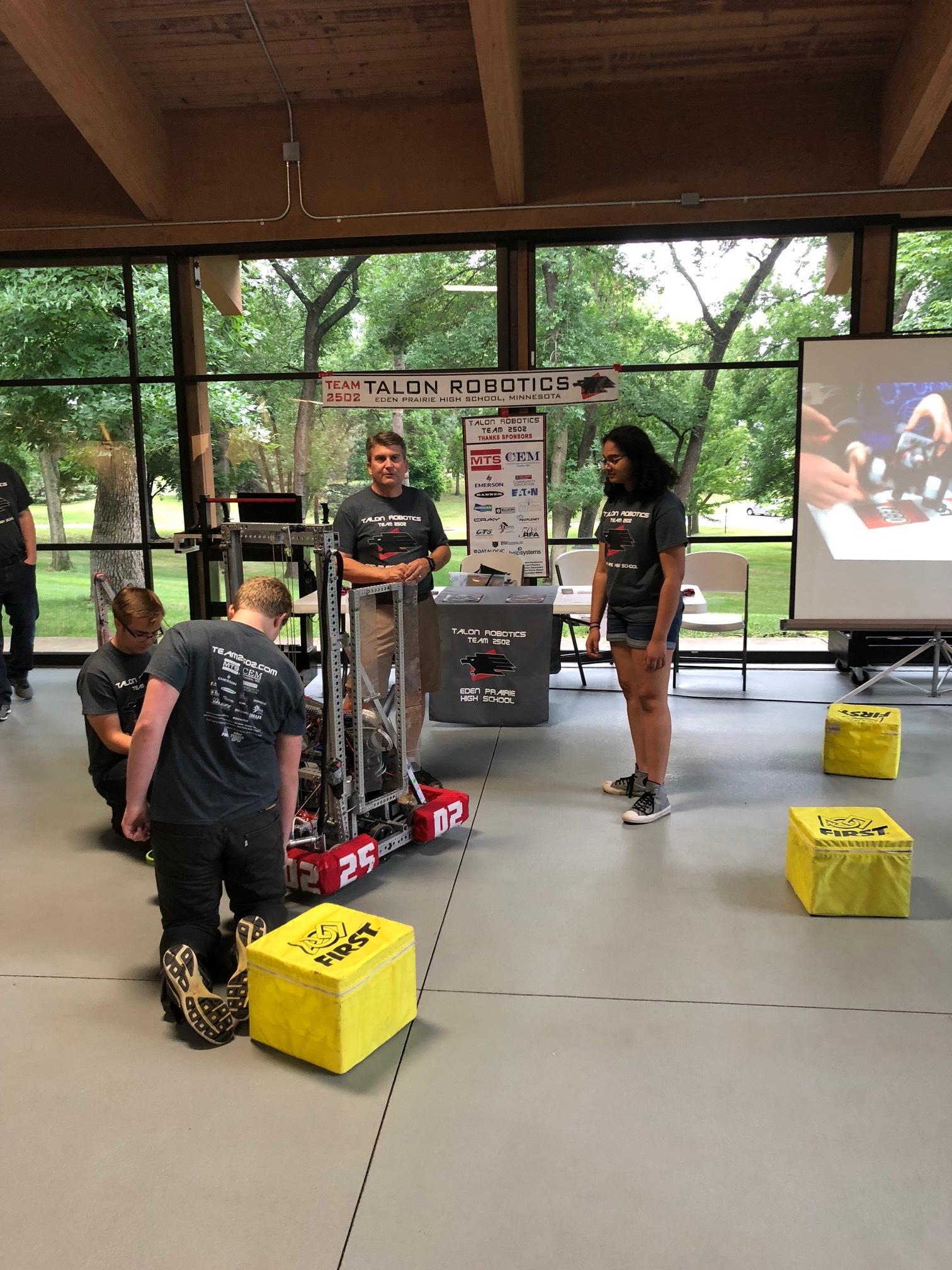 Eden Prairie First Robotics League team Talon