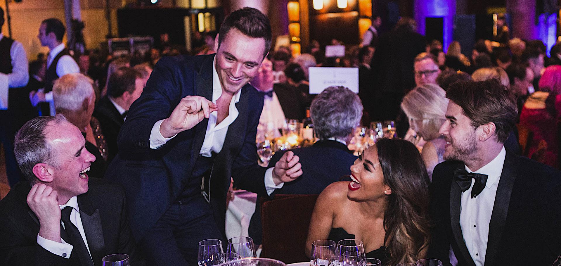 Vanessa White  - Macmillan Celebrity dinner