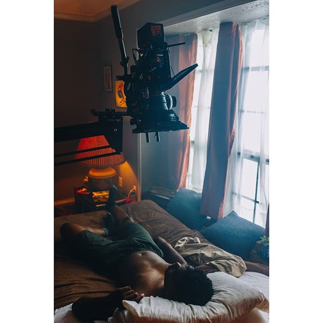"""BTS of our new music for """"Lifted"""" by @troygarrick. See what lies ahead for Troy tomorrow on our vimeo and website! 📷@ktlnklptrck • • • #tamarindbts #musicvideo #filmproduction #cinematography #cinematic #bts #behindthescenes #musicvideoshoot #slate #drama #pop #indie #setlife #dramatic"""