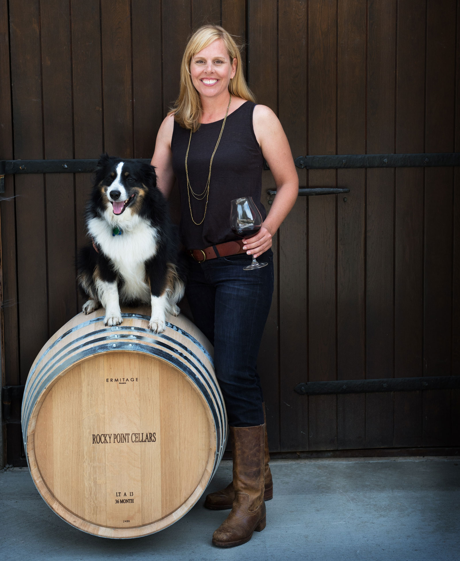 Founder & Winemaker Amy Lee