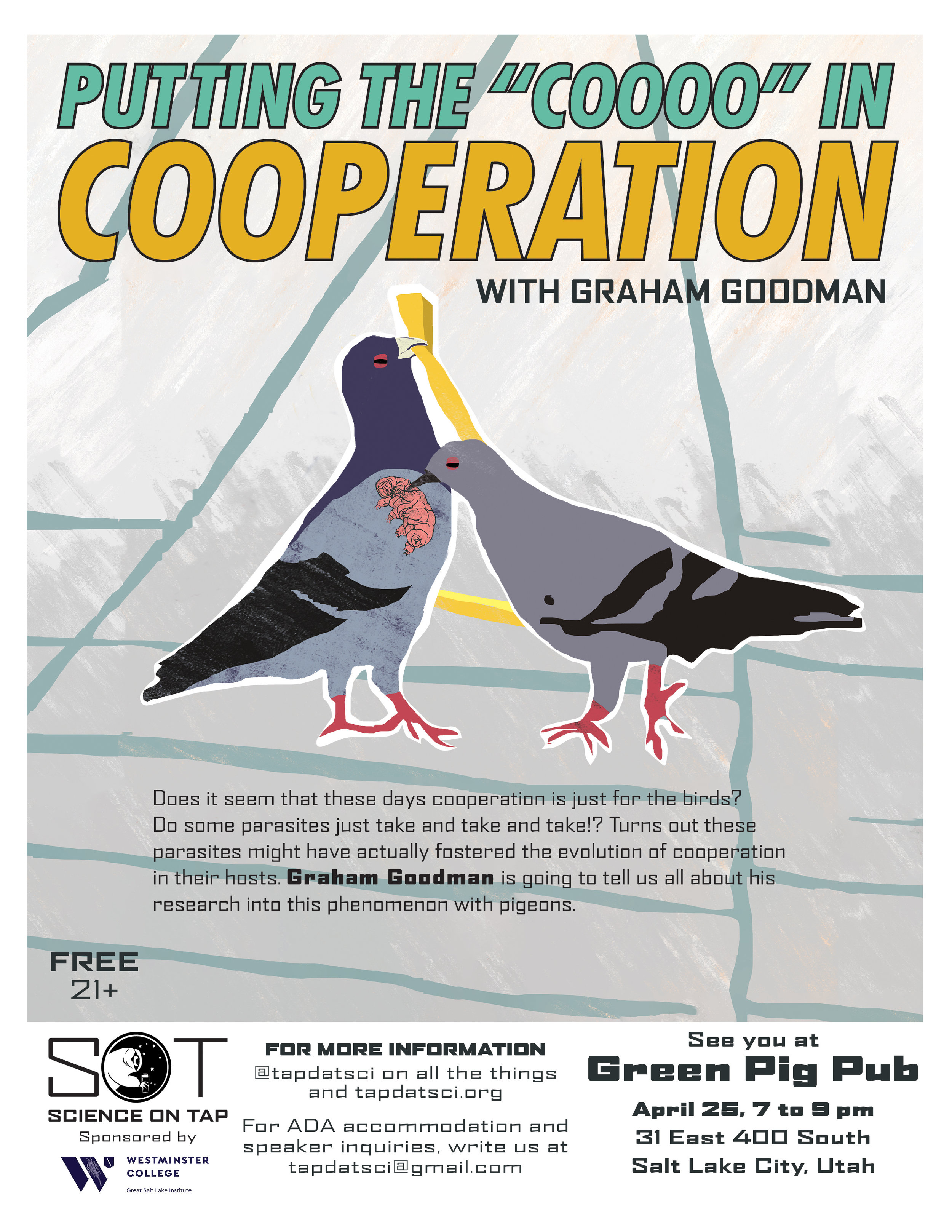 Putting the COOOO in Cooperation   Graham Goodman  April 25, 2019